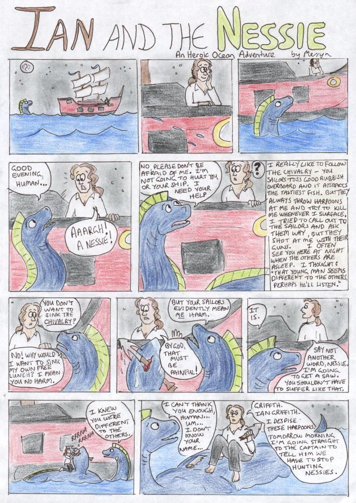 Page 1 of Ian and the Nessie